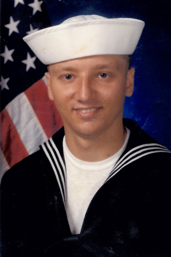 Adam Bielawski Navy Bootcamp photo (1987)